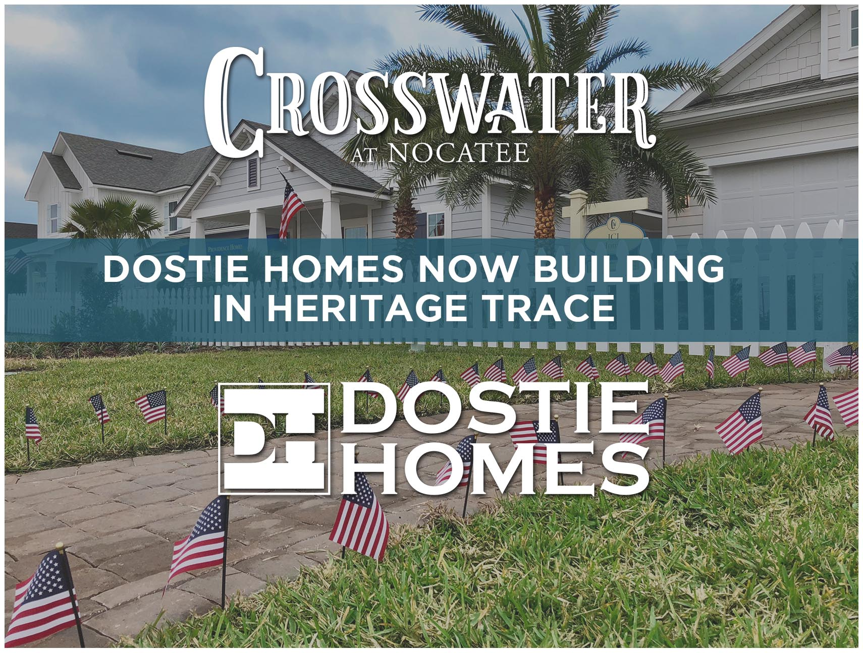 Dostie Homes Building in Heritage Trace in Crosswater