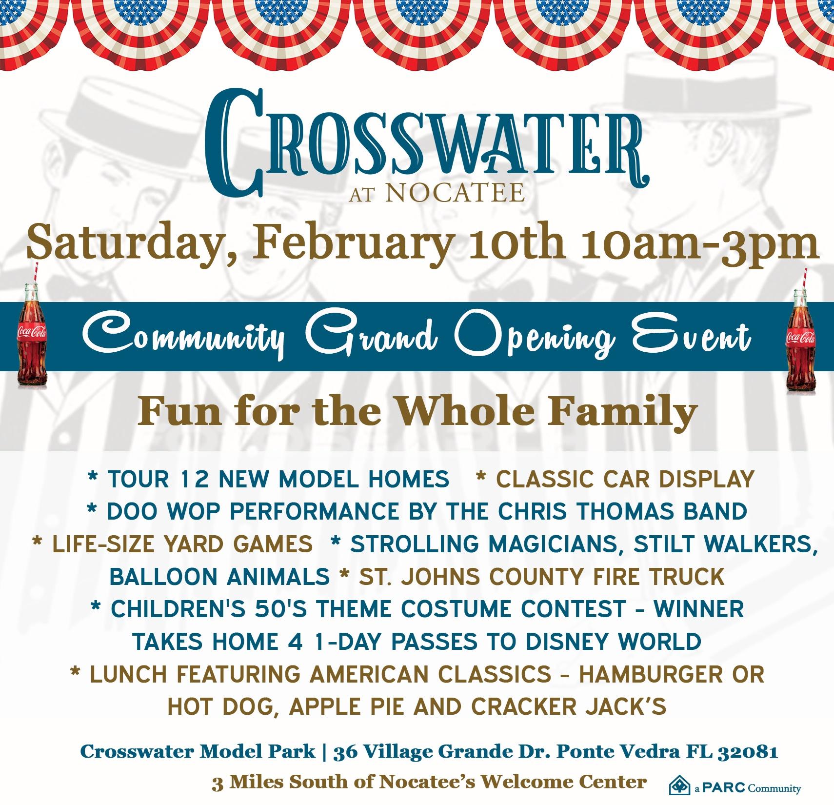 Crosswater Grand-Opening