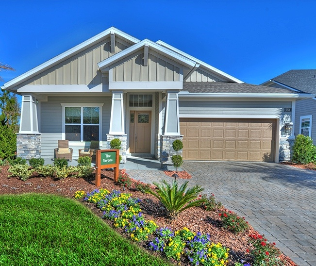 Serena Model by ICI Homes in Timberland Ridge at Nocatee