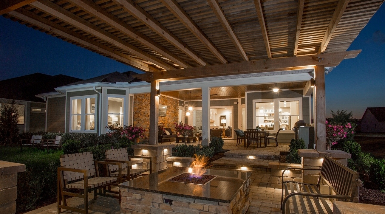 Outdoor Oasis by David Weekley Homes in Nocatee