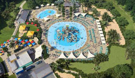 Nocatee Spray Park Aerial