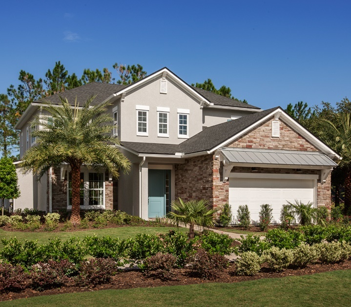 Terrano Model in Coastal Oaks at Nocatee by Toll Brothers
