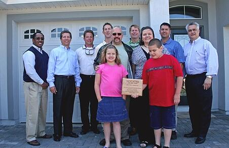 Welcome Ceremony for Nocatee's First Family (2007)