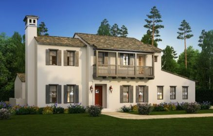 The Vista at Twenty Mile Plan Three (Spanish Colonial) by The Pineapple Corporation