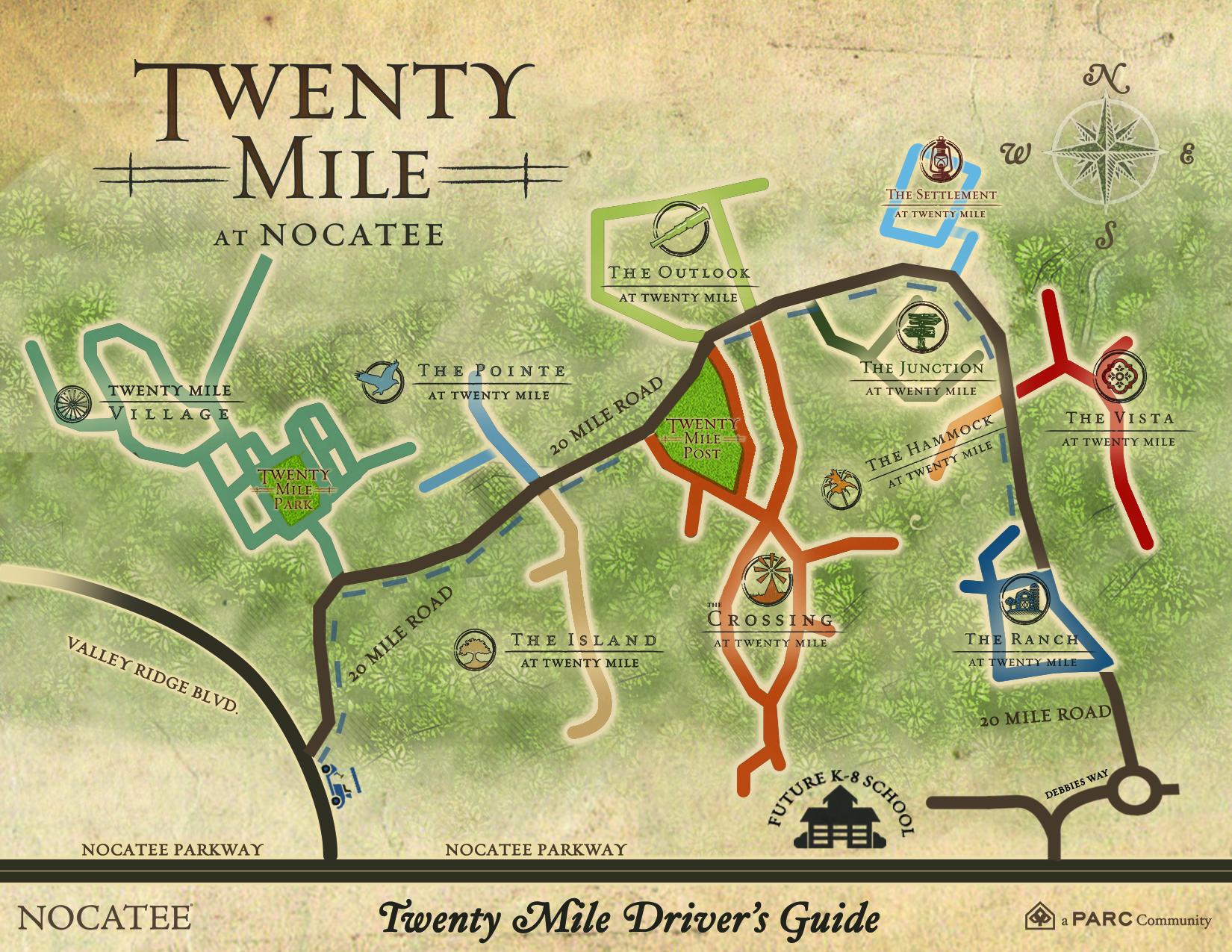 Twenty Mile at Nocatee Drivers Guide