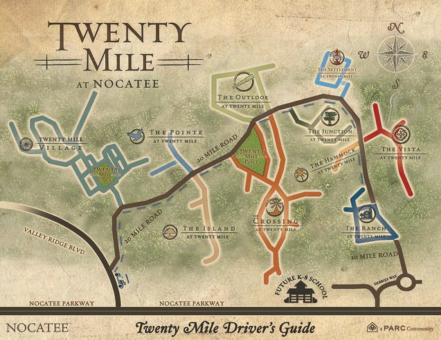 Twenty Mile at Nocatee Drivers Guide