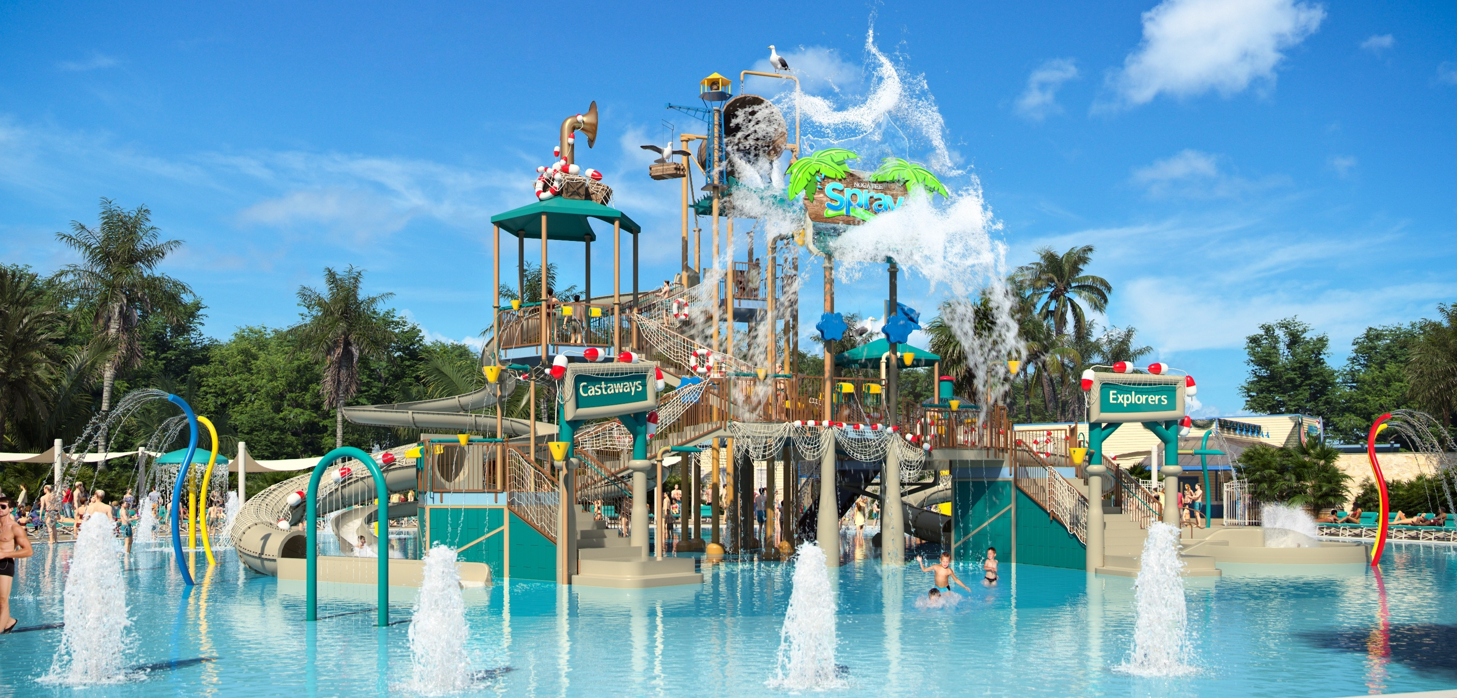 Whale Harbour in Nocatee Spray Park