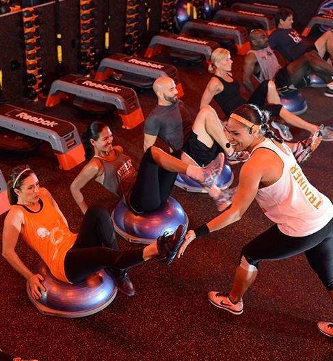 Workout at Orange Theory