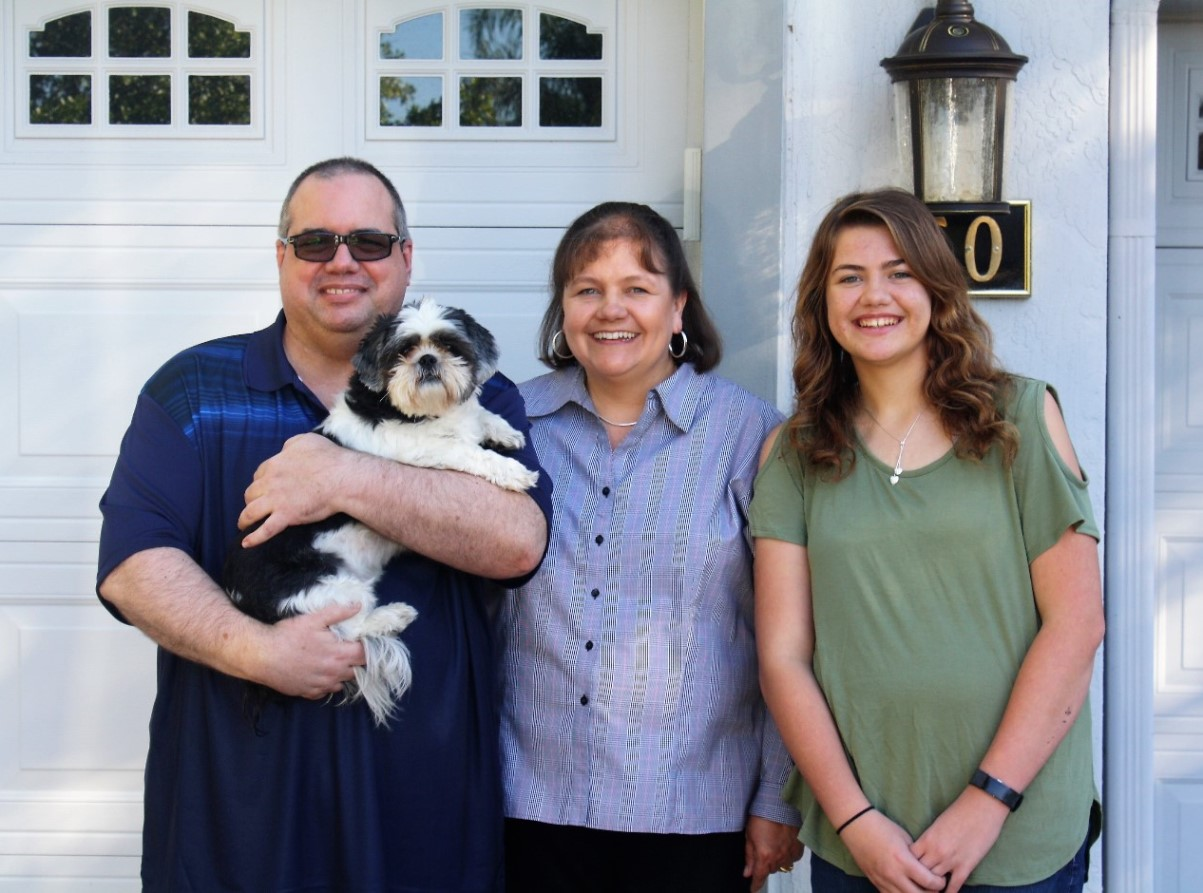 The Moore Family of Nocatee; PC: The Ponte Vedra Recorder