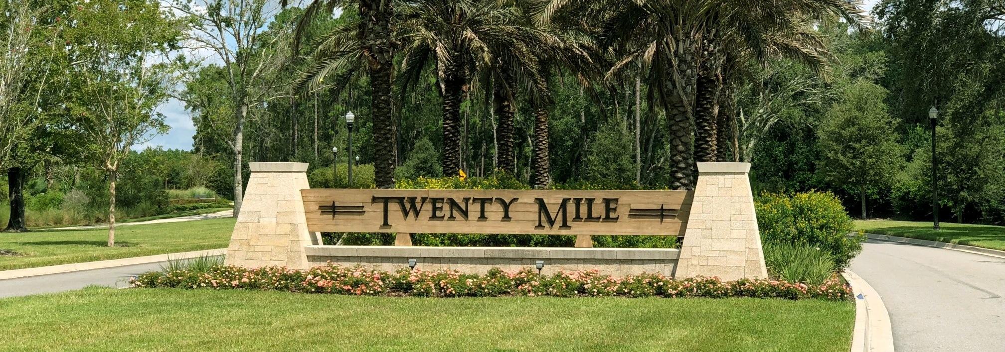 Twenty Mile at Nocatee Monument