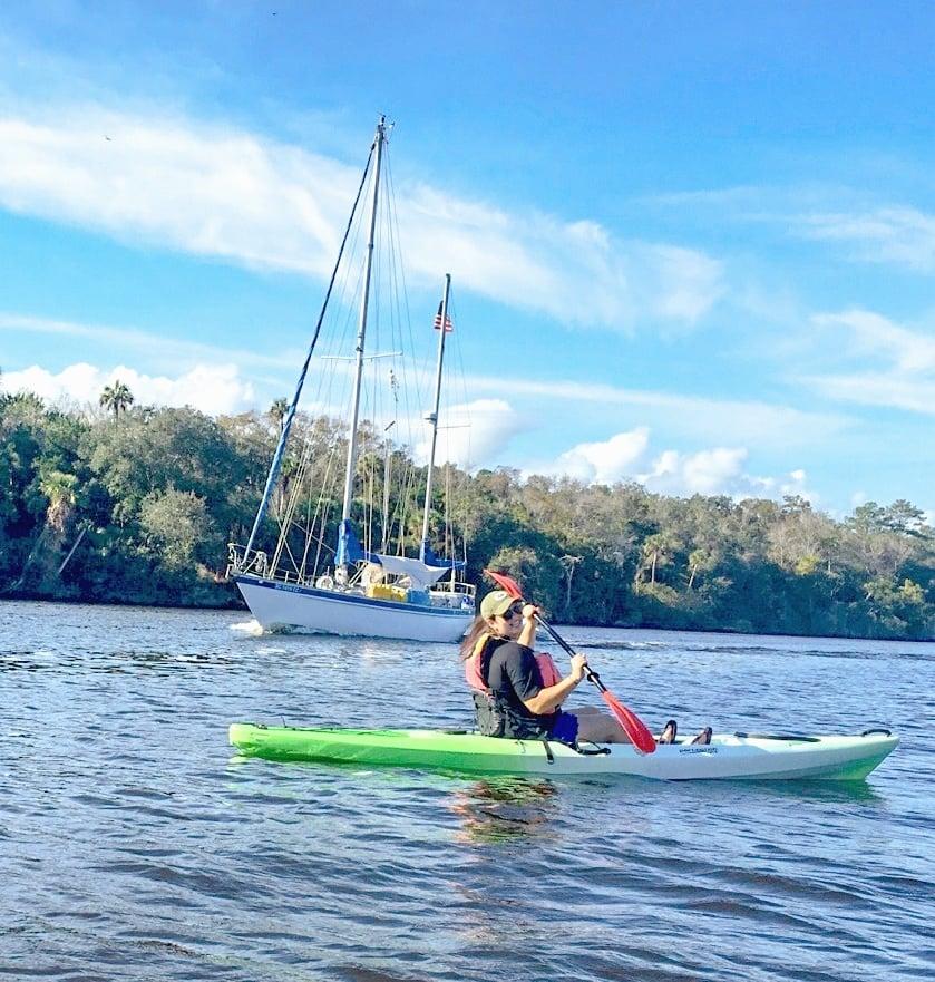 Kayaking the Intracoastal Waterways of Ponte Vedra
