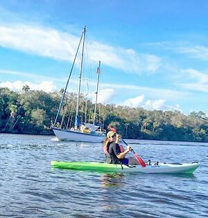 Kayaking the Intracoastal Waterways of Ponte Vedra