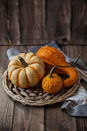 Pumpkins as Home Decor