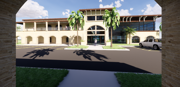 Entry to Flagler Health Village at Nocatee