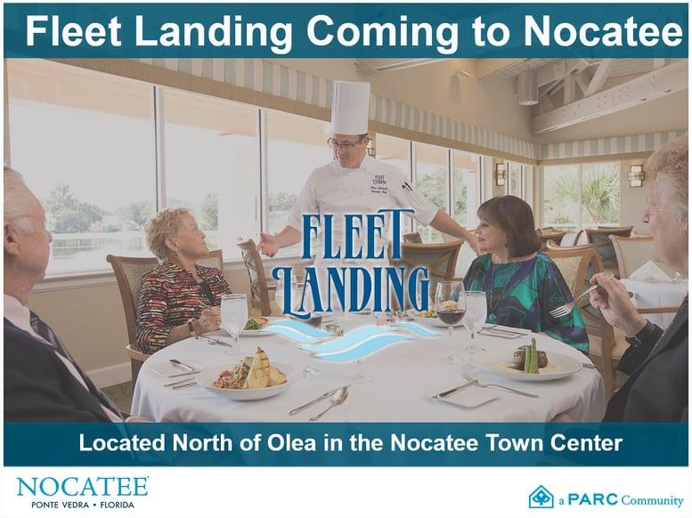 Fleet Landing Coming to Nocatee