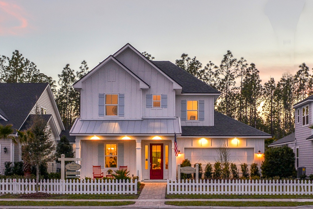 Franklin Model by Riverside Homes in Nocatee's Heritage Trace at Crosswater