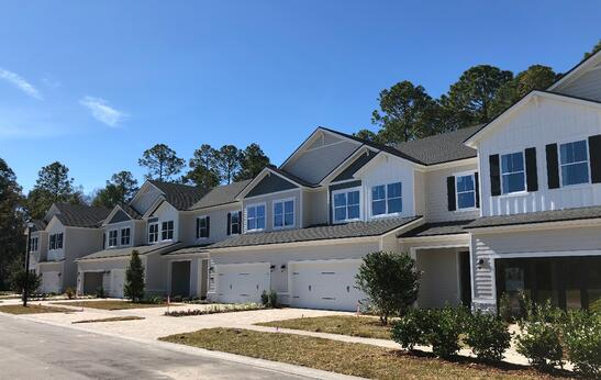 Townhomes in Oakwood at Nocatee