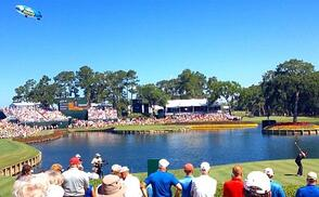 The Island Green on Hole 17 at TPC Sawgrass