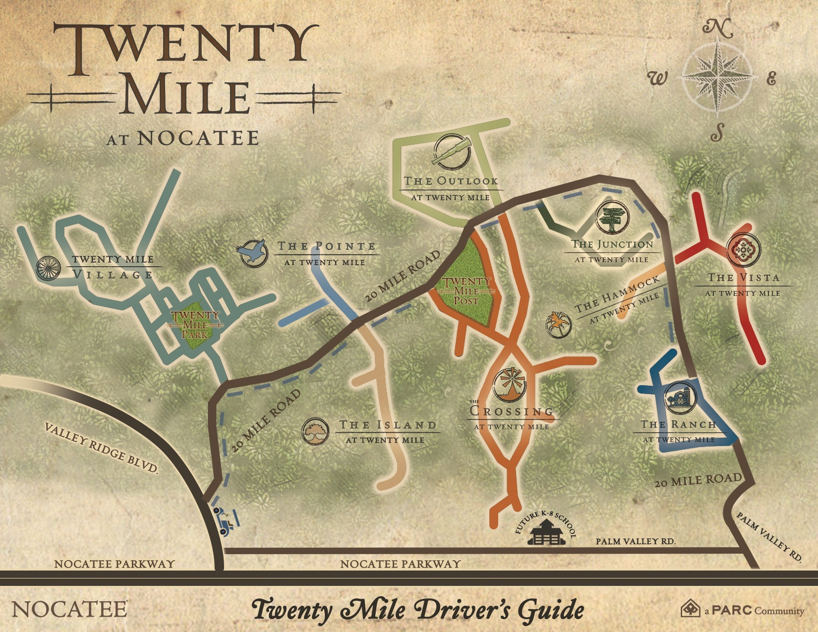 Twenty Mile at Nocatee Community Site-Map