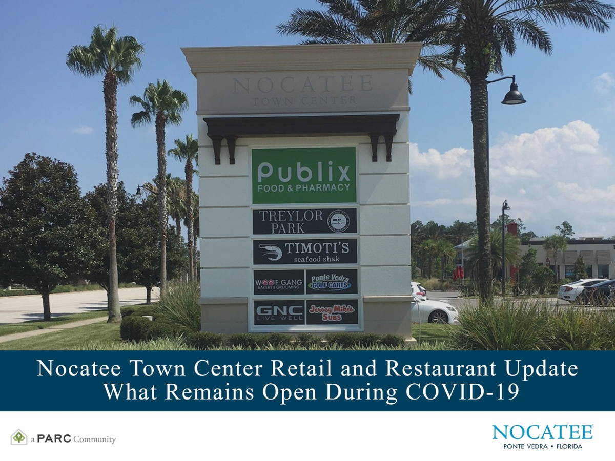 Nocatee Town Center Update