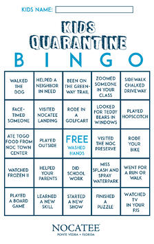 Nocatee Kids Bingo