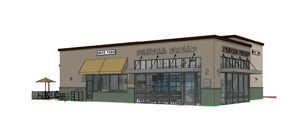 Panera Bread at Nocatee Rendering