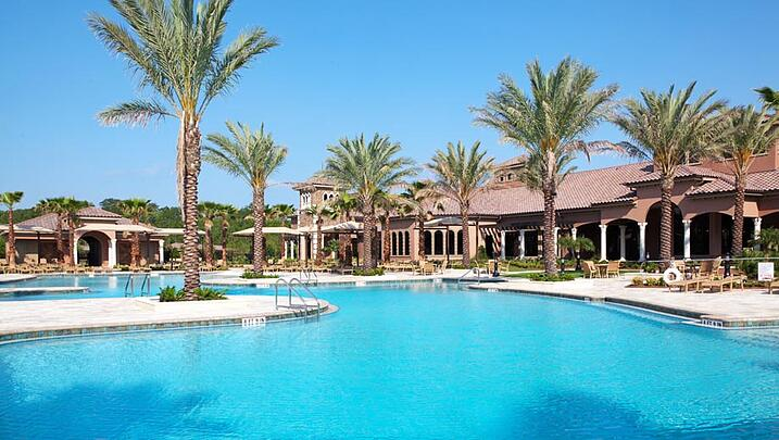 Pool at Del Webb