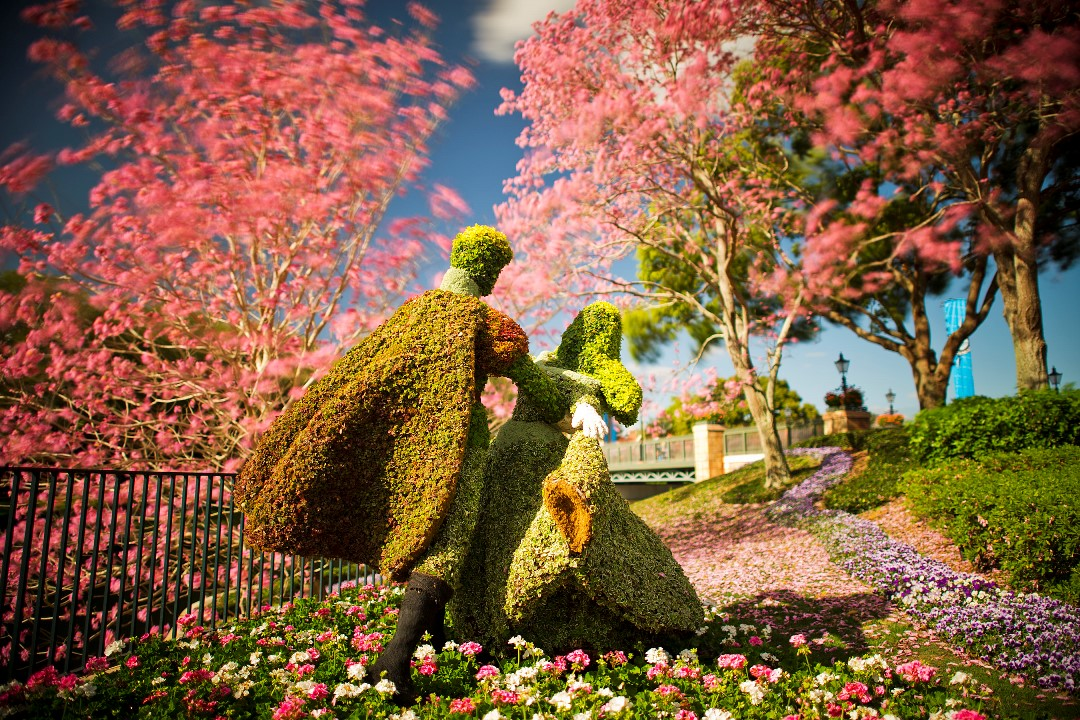 Epcot Flower and Garden Festival Day Trip