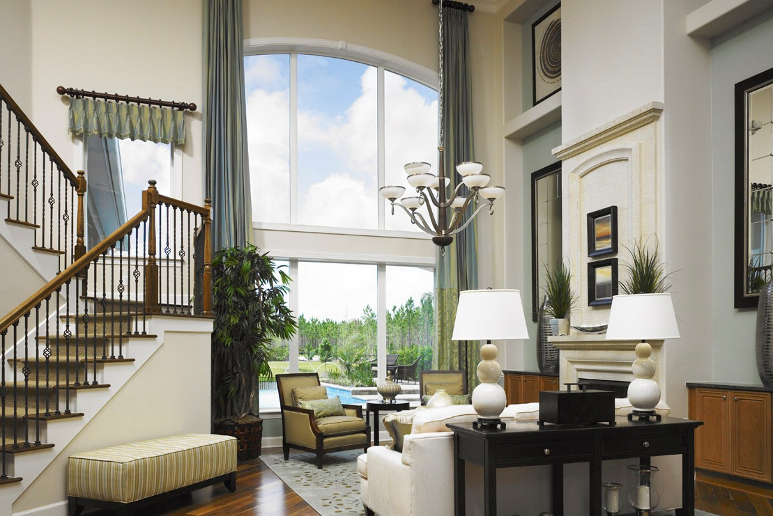 Windows in Coastal Oaks at Nocatee by Toll Brothers