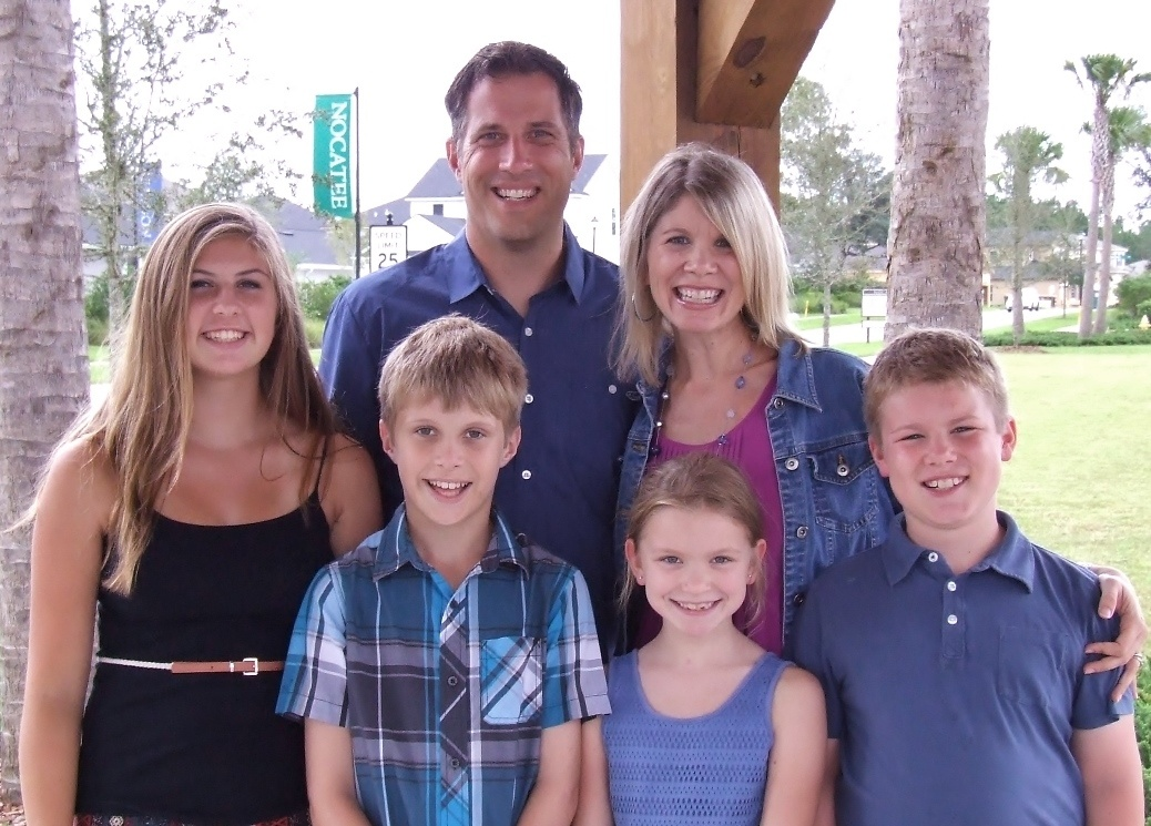 Jim Huster and Family