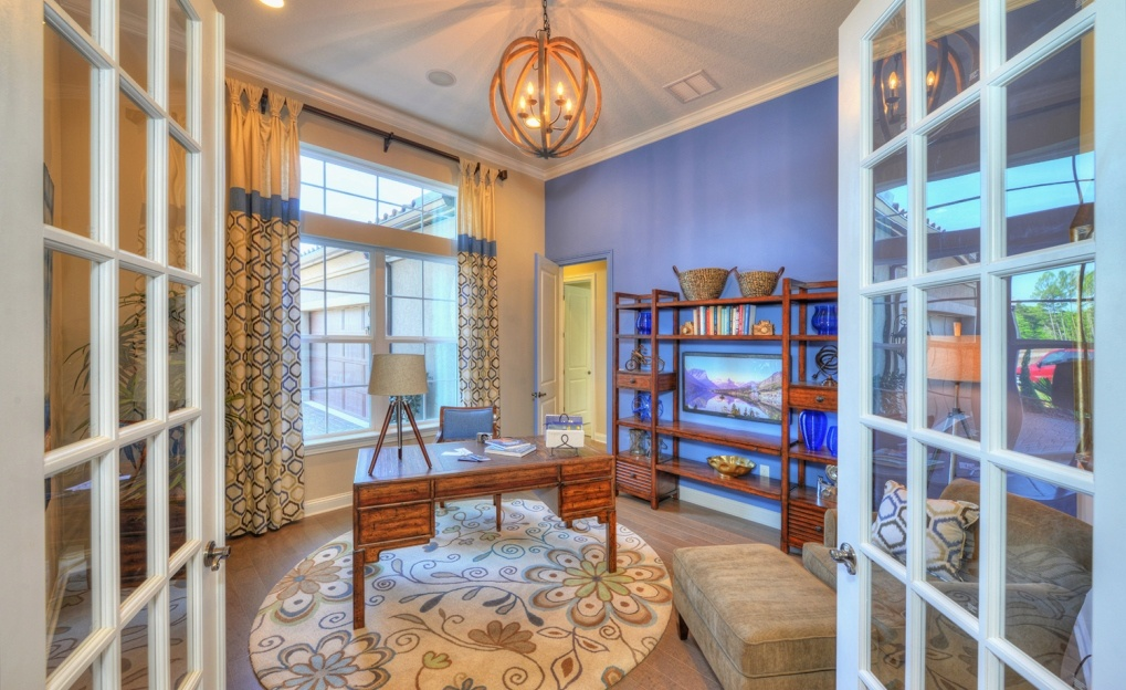 French Doors by ICI Homes in The Island at Twenty Mile at Nocatee