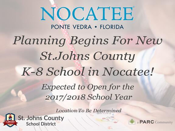 New St. Johns County K-8 School at Nocatee