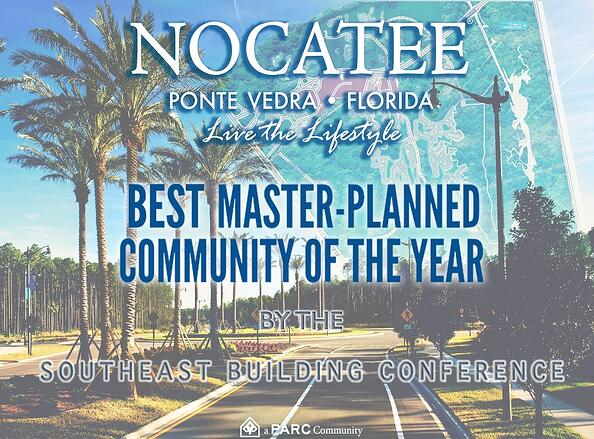 Nocatee Ponte Vedra wins Best Master Planned Community