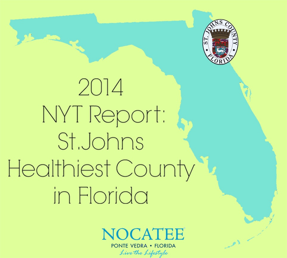 St. Johns County Healthiest in Florida