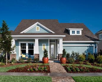 Retirees in Addison Park at Town Center by David Weekley Homes