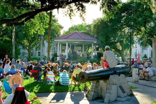 Bayfront concerts in St. Augustine