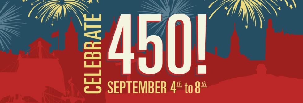 St. Augustine Celebrates 450