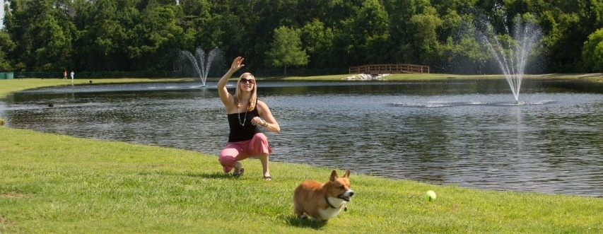 Trails for Tails Dog Park at Nocatee