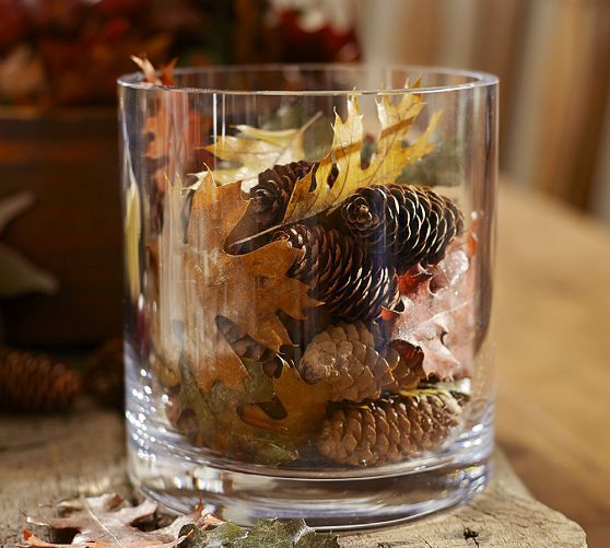 pine cone fall home decor ideas