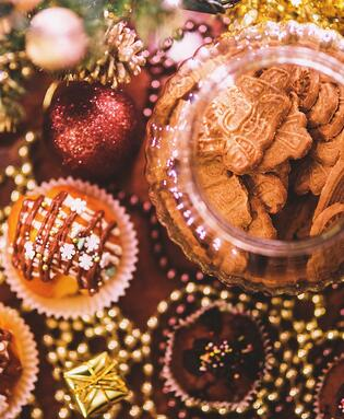 neighborhood holiday cookie exchange