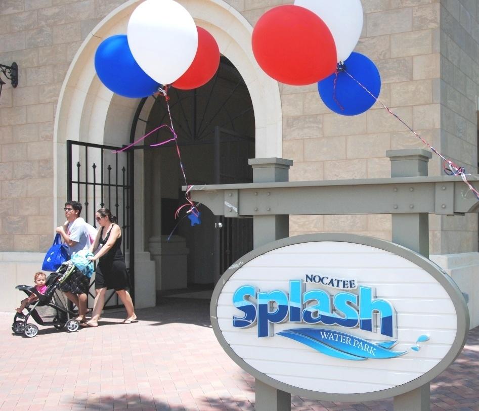 July 4th Celebration at Nocatee Splash Water Park