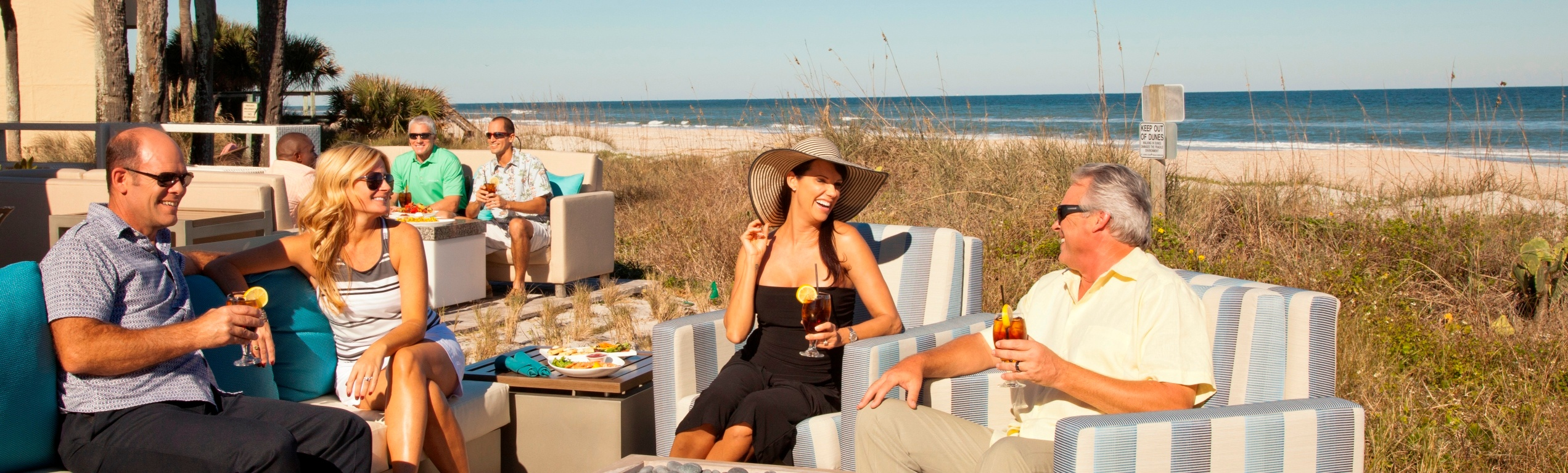 Cabana Beach Club Dining in Ponte Vedra Beach