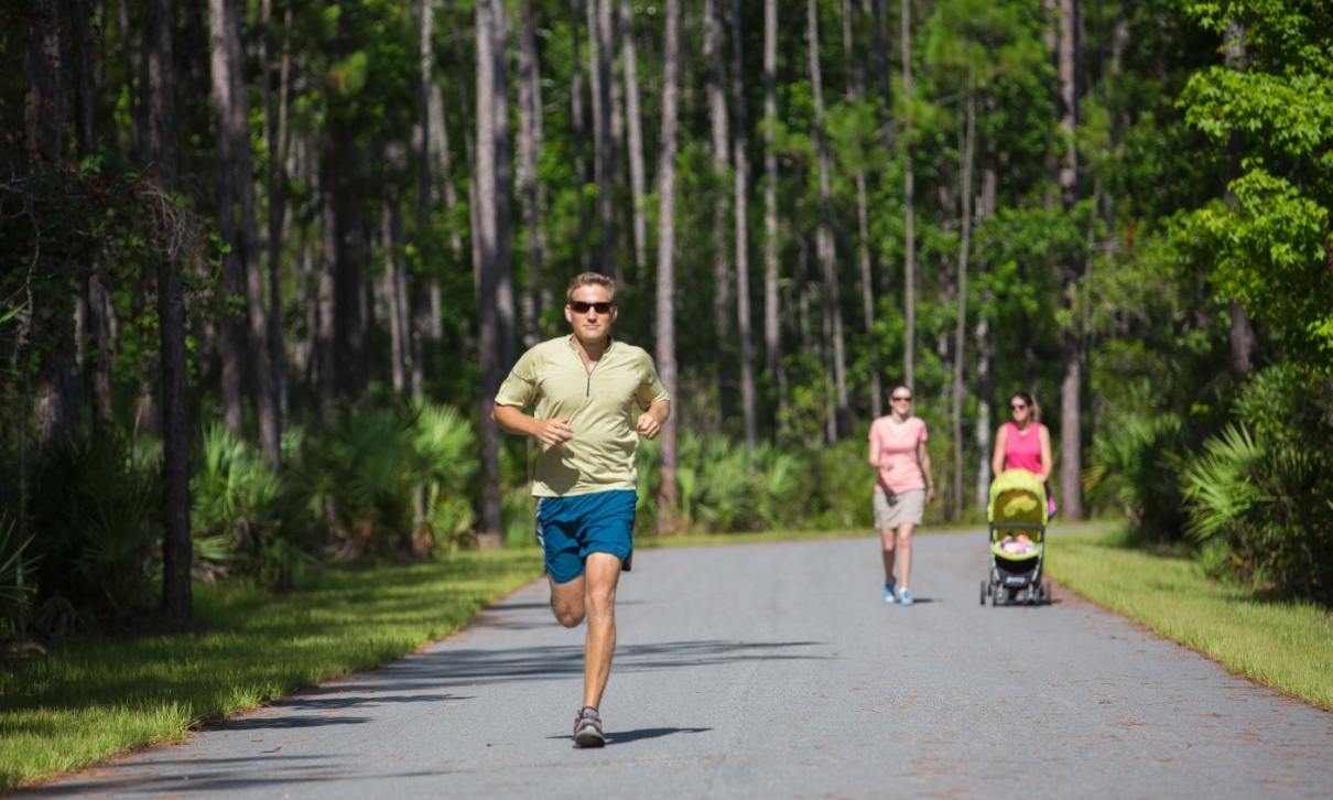 Running Trails on Nocatee Greenway Trails