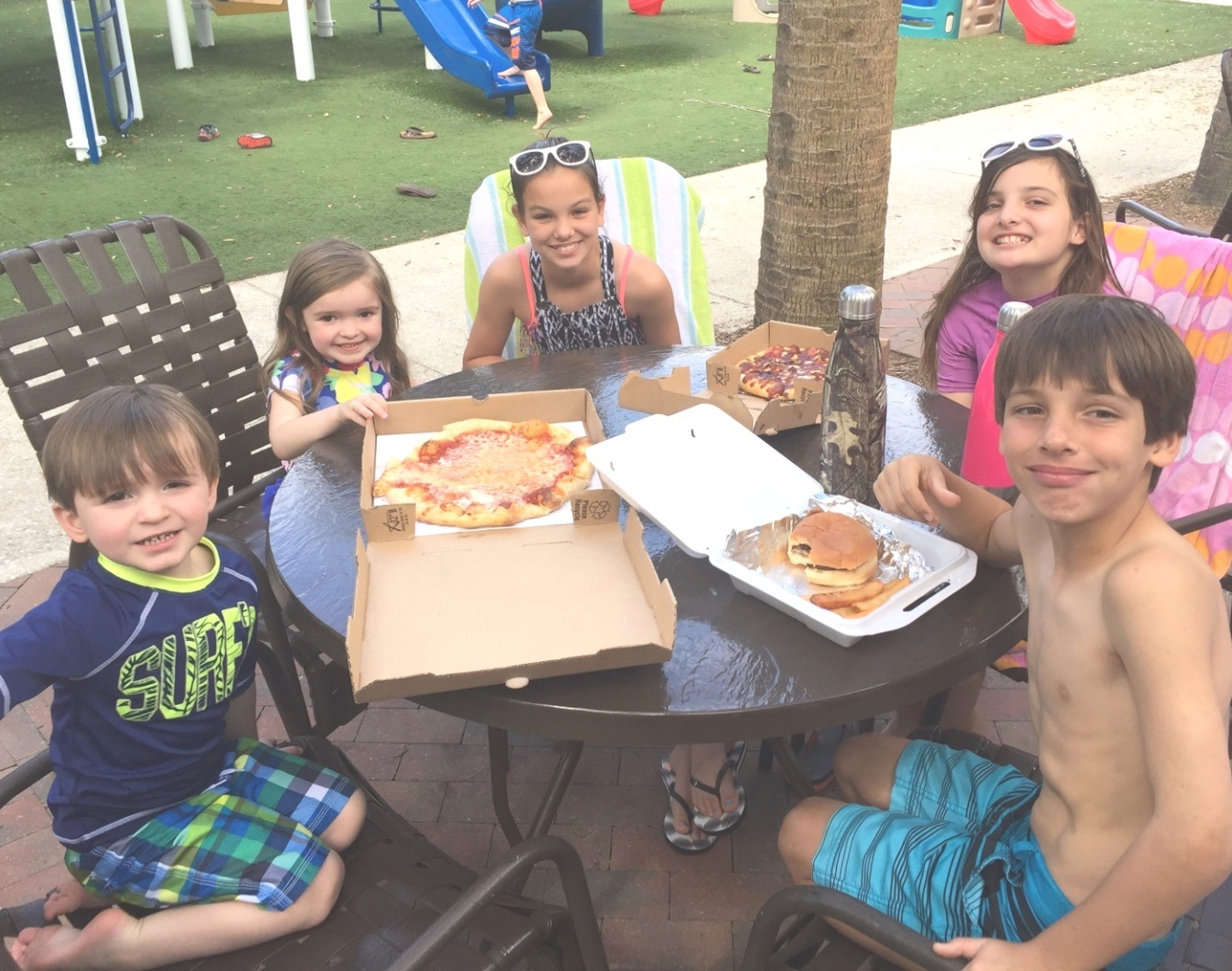 Dining at Rocky's in Nocatee's Splash Water Park