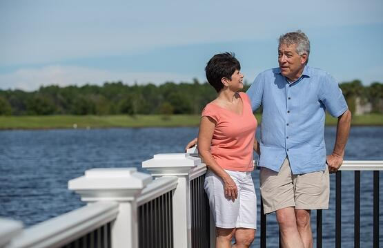 Retirees waterfront at Nocatee