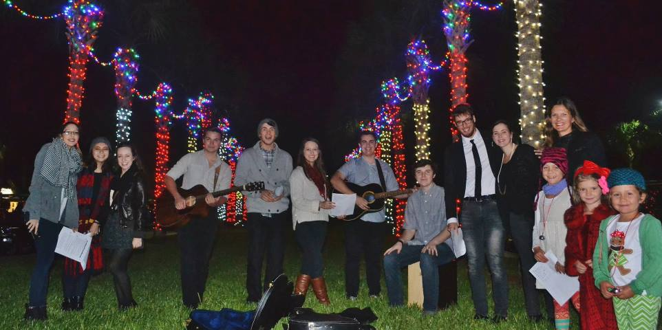 Nocatee AGlow Christmas event