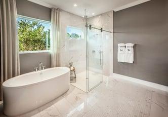 Rowen Spa-Inspired Bathroom