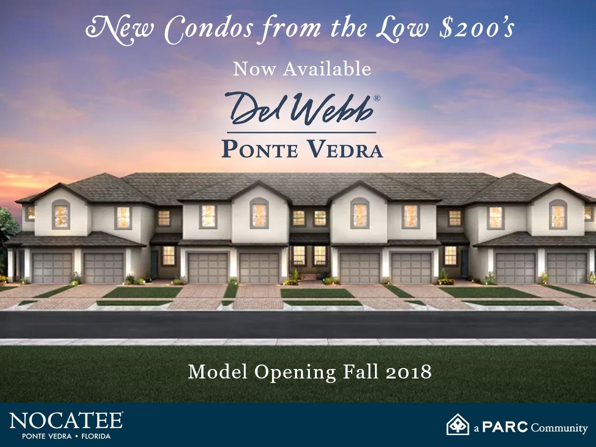 Del Webb Ponte Vedra New Condos