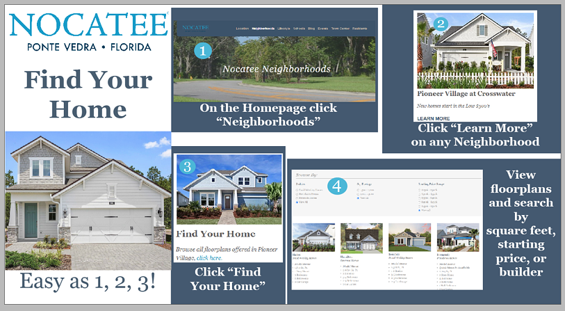Nocatee Find Your Home Tool