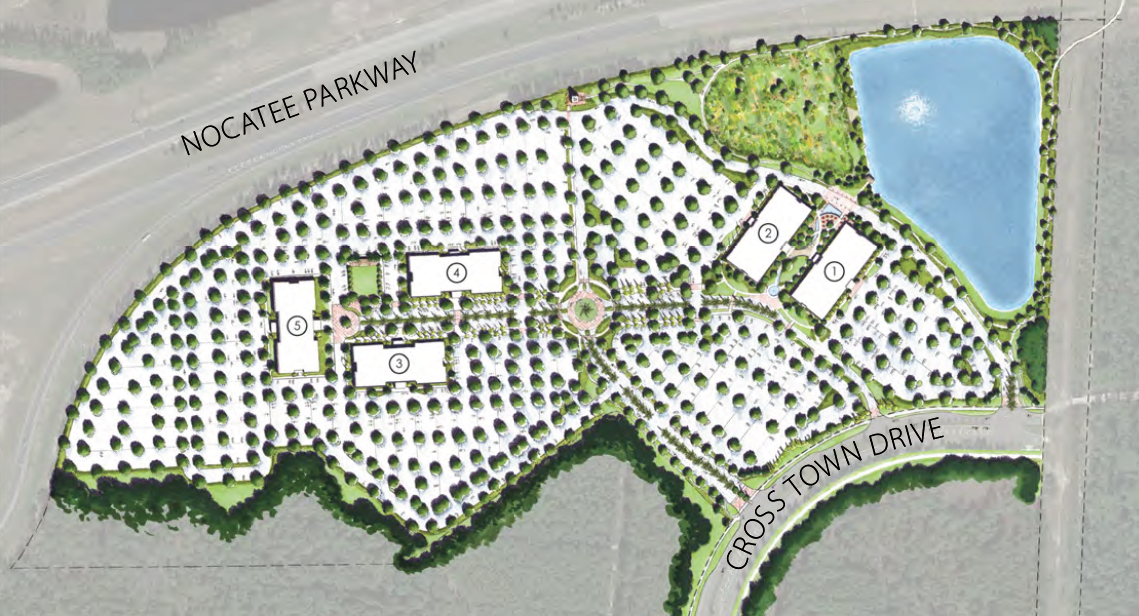 Park Place at Nocatee Site Map